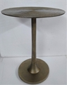 Antique Brass End Table