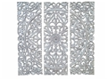 SEVILLA FLOWERED PANEL TRIO